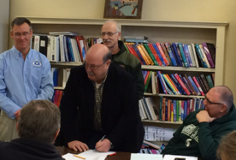 North Country Trail agreement signed; organizers begin planning exact route
